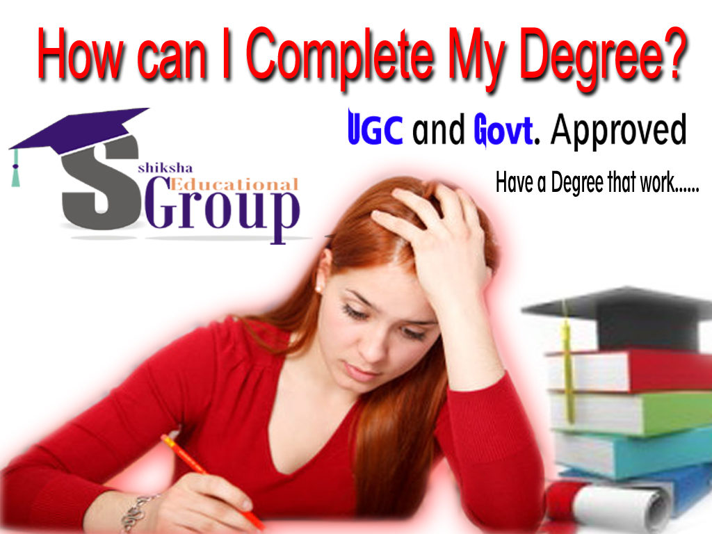 how can i complete my discontinued graduation? : how can i complete my degree?