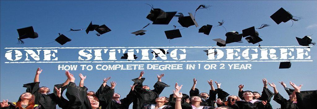 One SItting degree Delhi