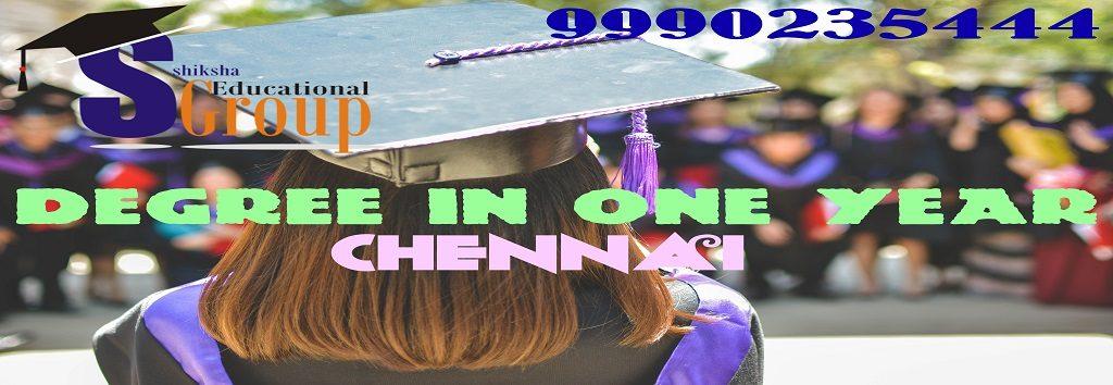 degree one year Chennai