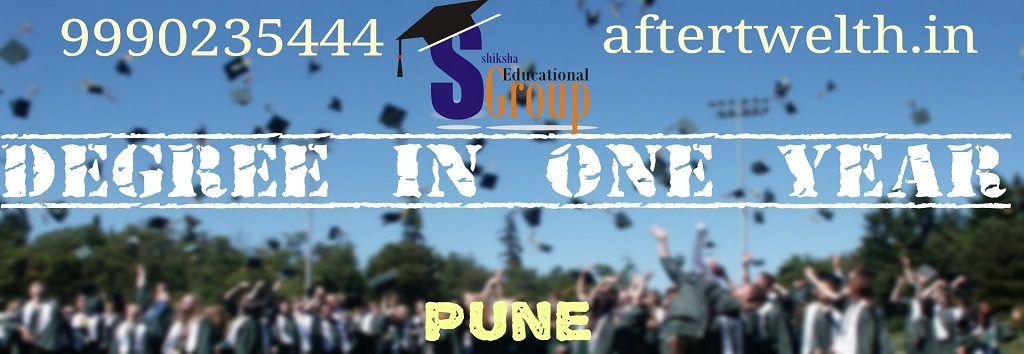 degree in one year Pune