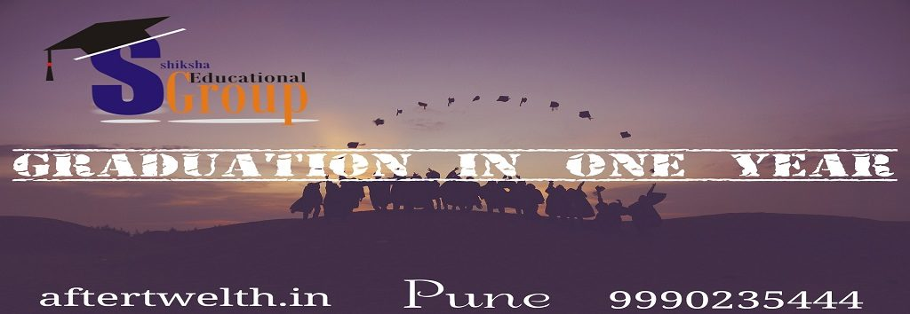 graduation in one year Pune