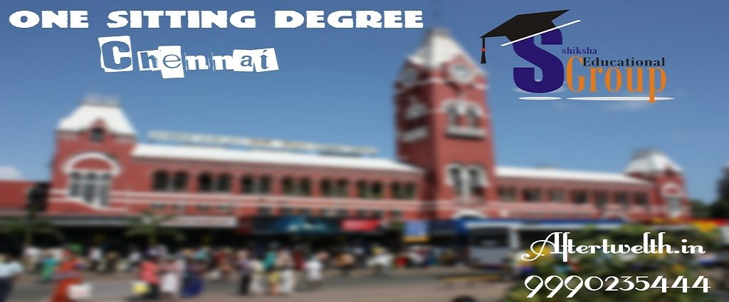 one sitting degree Chennai