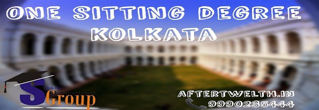 One sitting degree Kolkata