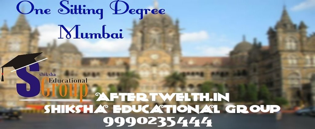 One sitting degree Mumbai