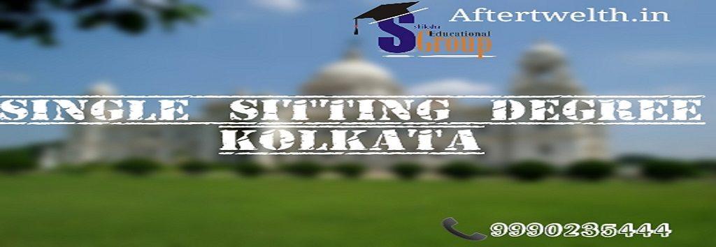 Single sitting degree Kolkata